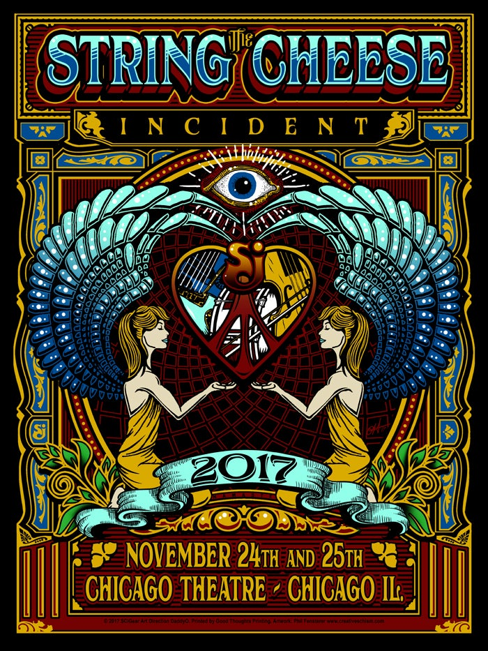 Image of The String Cheese Incident - Chicago Theatre 2017