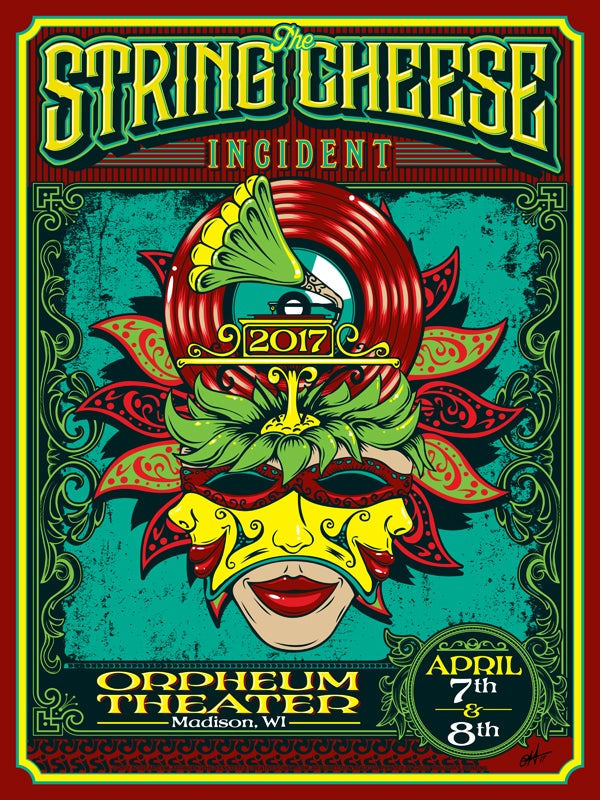 Image of The String Cheese Incident - Orpheum Theater 2017