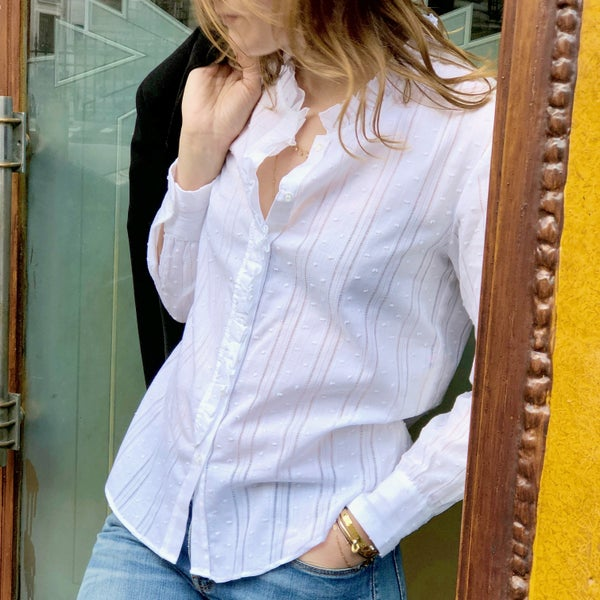Chemise Anna Plumetis 130€  -60% - Maison Brunet Paris