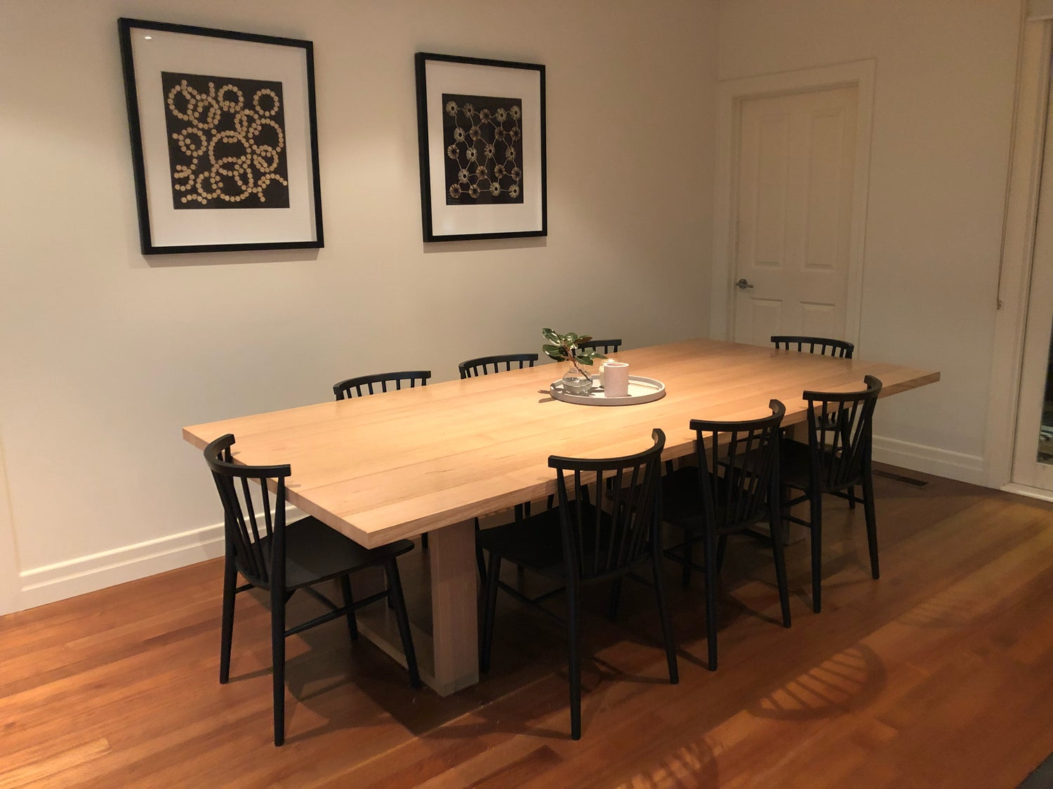 Image of Square Leg Dining Table option