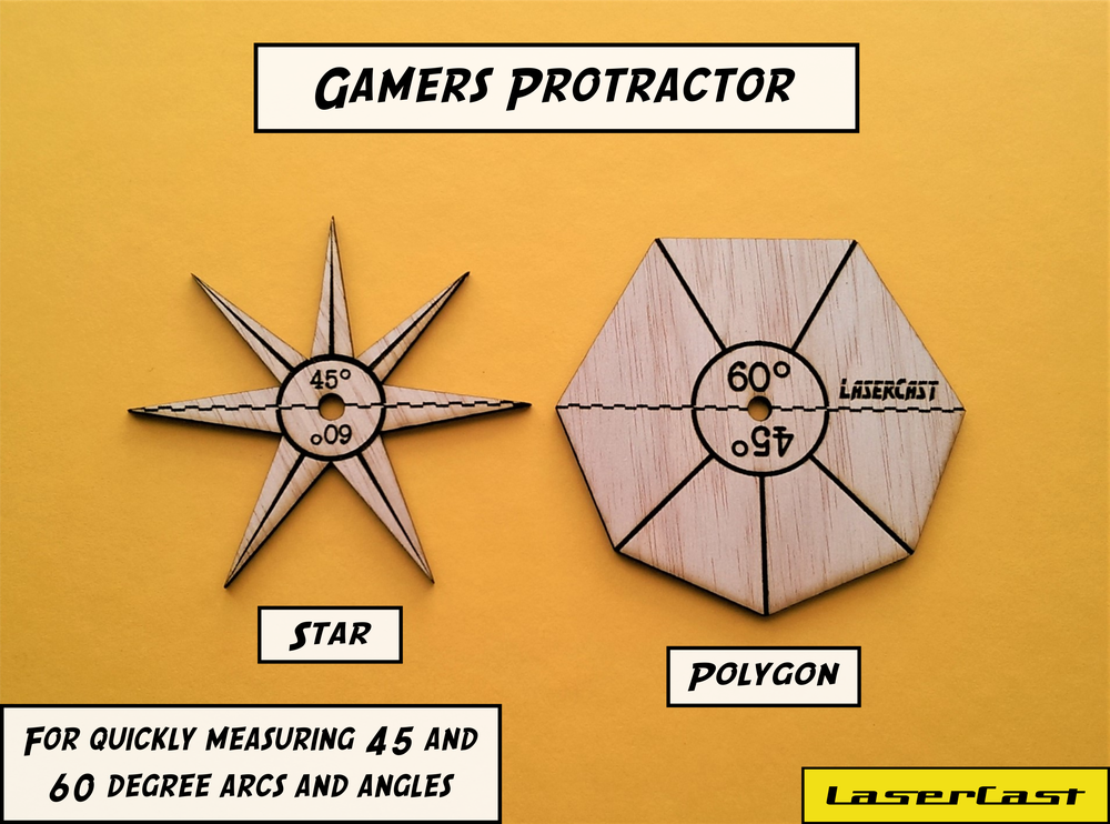 Image of Gamers protractor