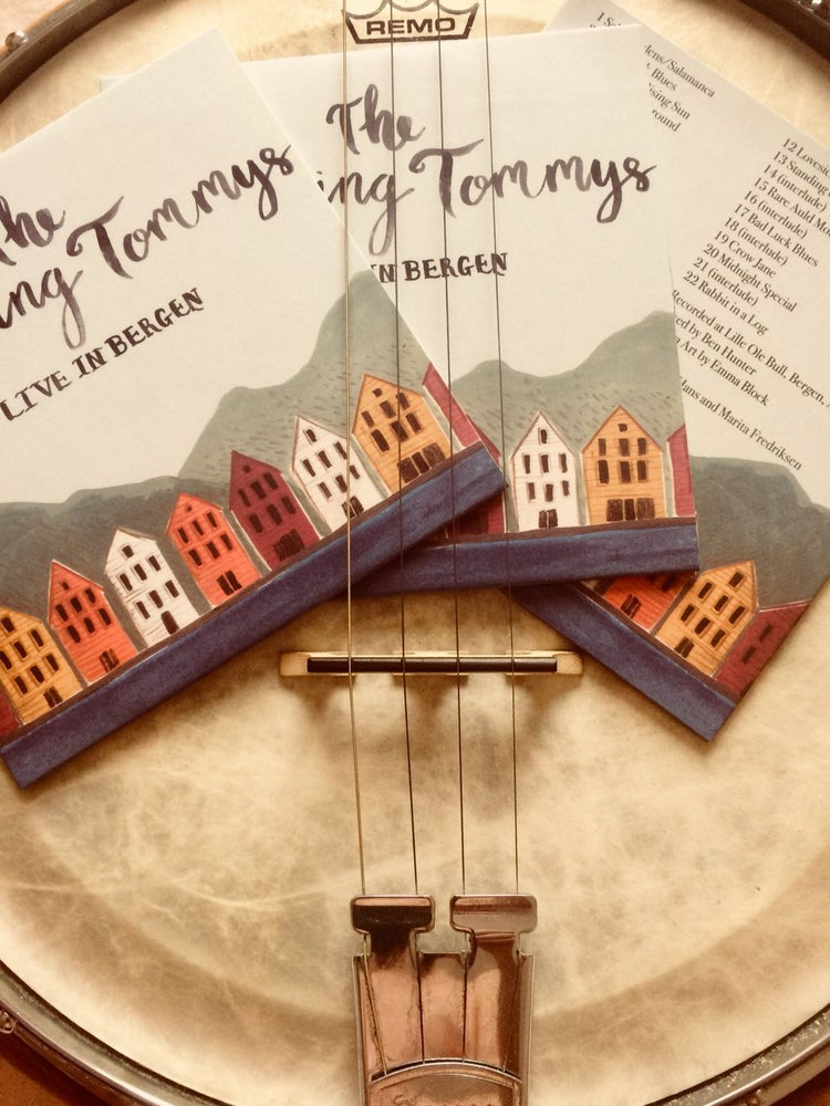 Image of The Thumping Tommys - Live in Bergen CD