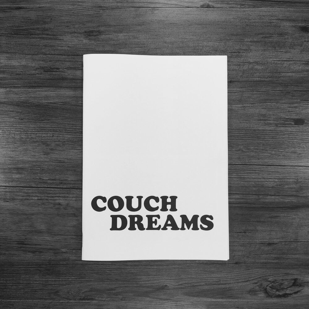 Image of COUCH DREAMS ZINE.