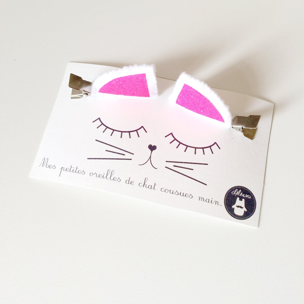 Image of Barrettes oreilles de chat