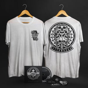 Image of IN MOMENT // IN MEMORY CD & T SHIRT BUNDLE