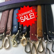 "Image of Clearance Sale - Genuine Leather Straps - 1.5"" (inch) Wide Width - Your Choice - Limited Inventory"