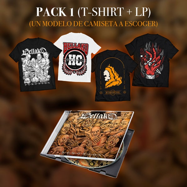 Image of Pack 1  [T-Shirt + LP]