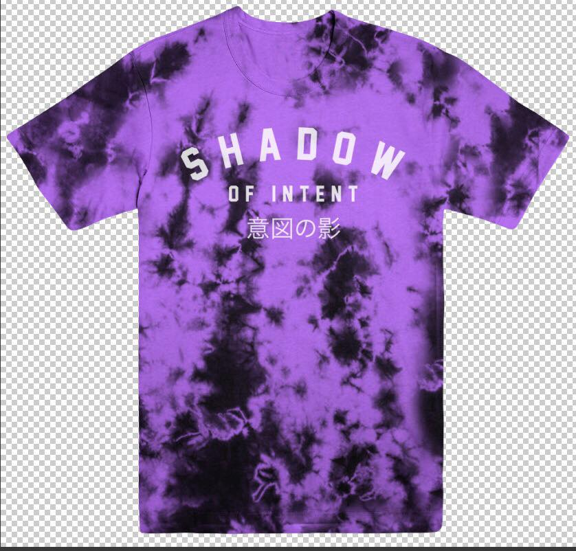 Image of Purple Dye Tee