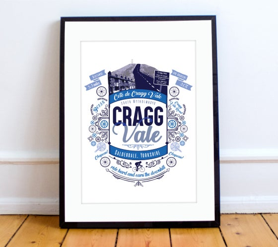 Image of Cragg Vale print - A4 or A3