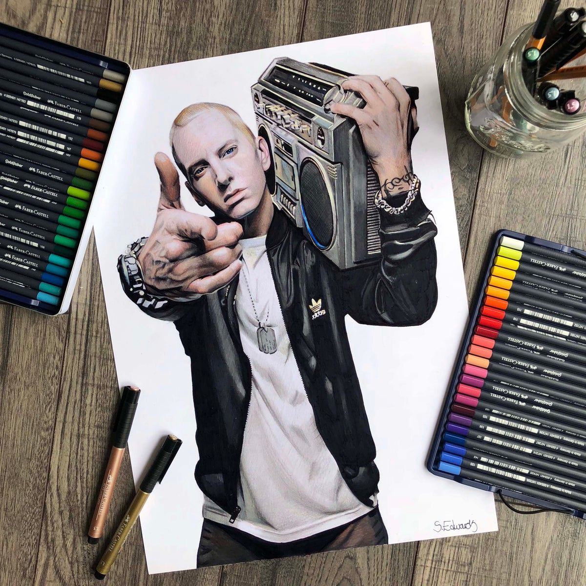 Image of Eminem Print (Limited Edition)