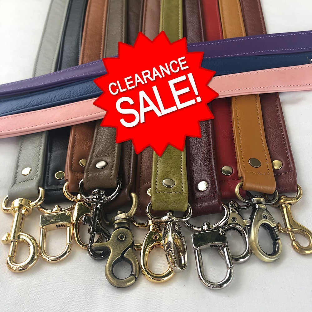 "Image of Clearance Sale - Genuine Leather Straps - 1"" (inch) Classic Width - Your Choice - Limited Inventory"