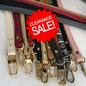 "Image of Clearance Sale - Genuine Leather Straps - 0.5"" (inch) Petite Width - Your Choice - Limited Inventory"