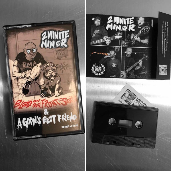 Image of SOLD OUT Blood On Our Front Stoop / A Goon's Best Friend (Germany Edition)