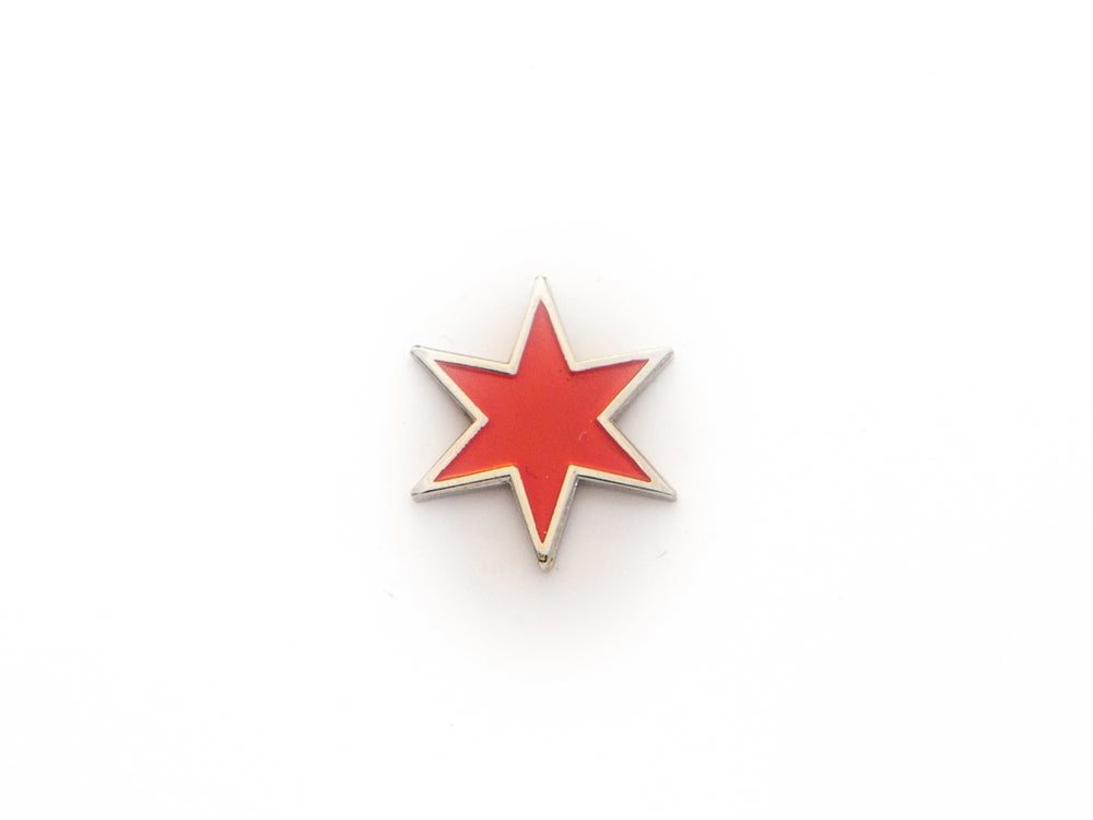Image of Chicago Star Enamel Pin