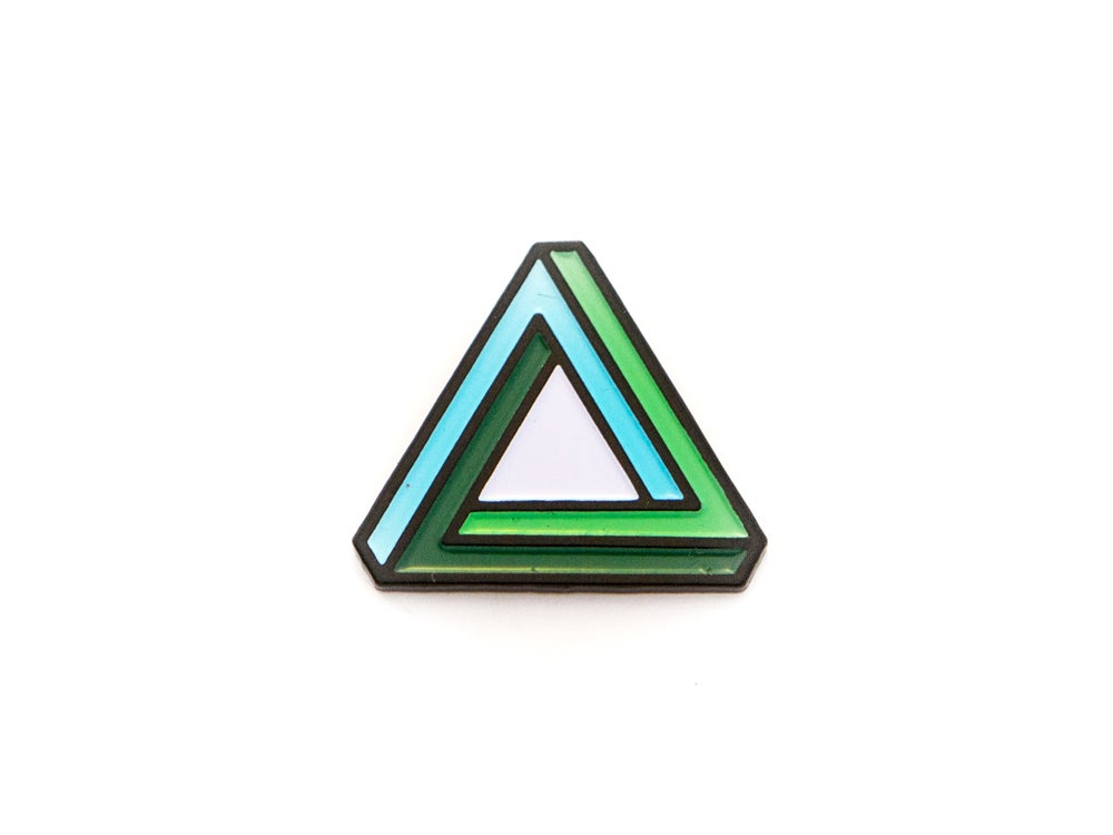 Image of Penrose Triangle Enamel Pin