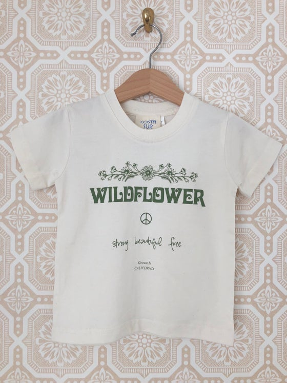 Image of COSTA SUR- Wildflower Toddler Tee