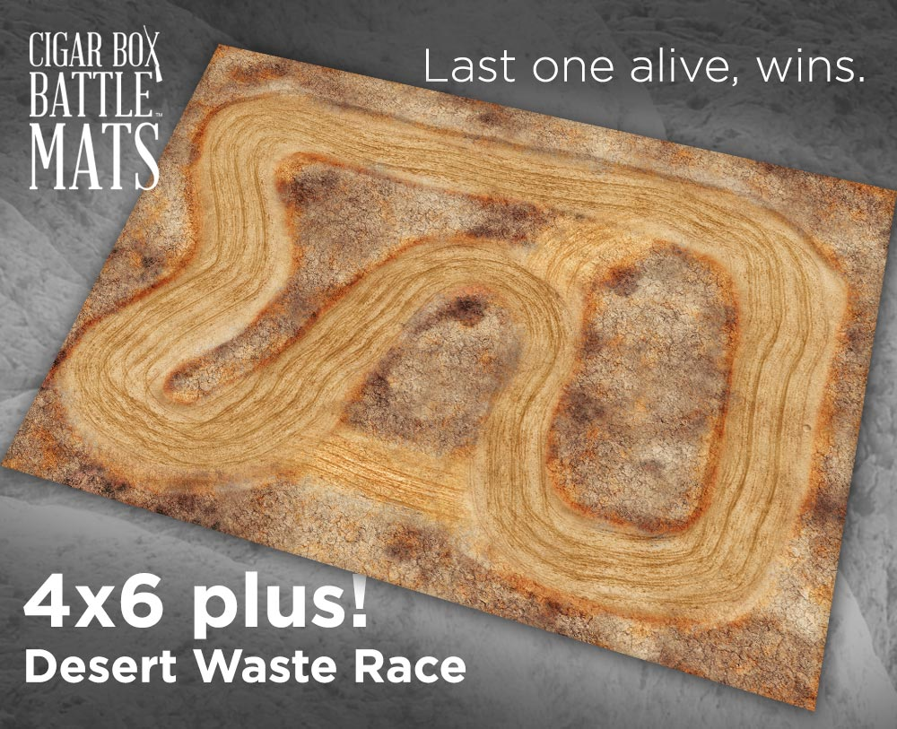 Image of Desert Waste Race -- 4x6plus -- #630