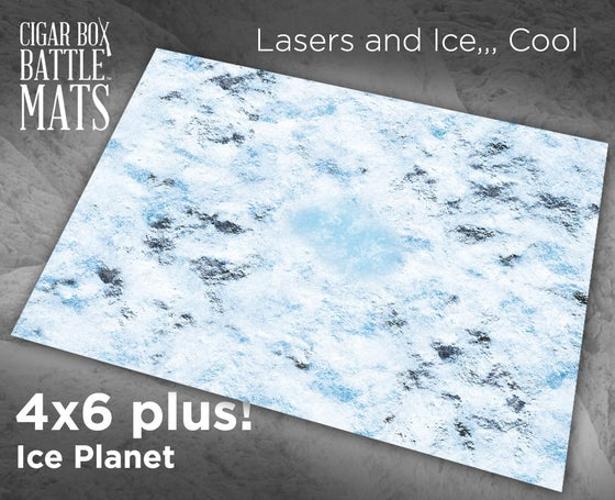 Image of Ice Planet -- 4x6plus -- #640