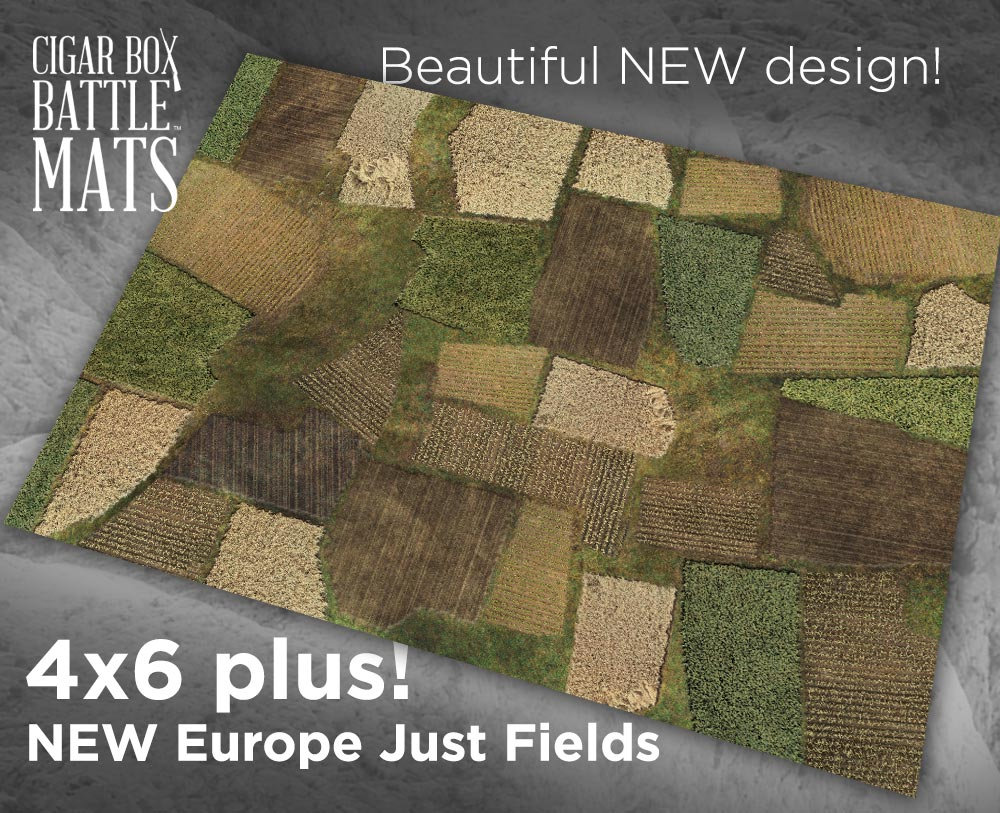 Image of NEW Europe 2 Just Fields -- 4x6plus -- #680