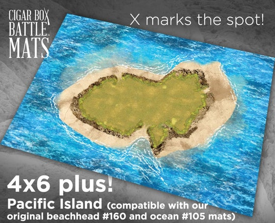 Image of Pacific Island -- 4x6plus -- #710