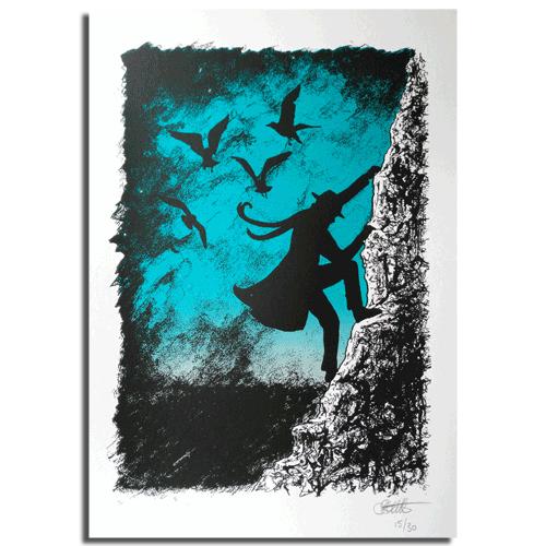 Image of 'The Nuckelavee' Print by Oliver Barrett