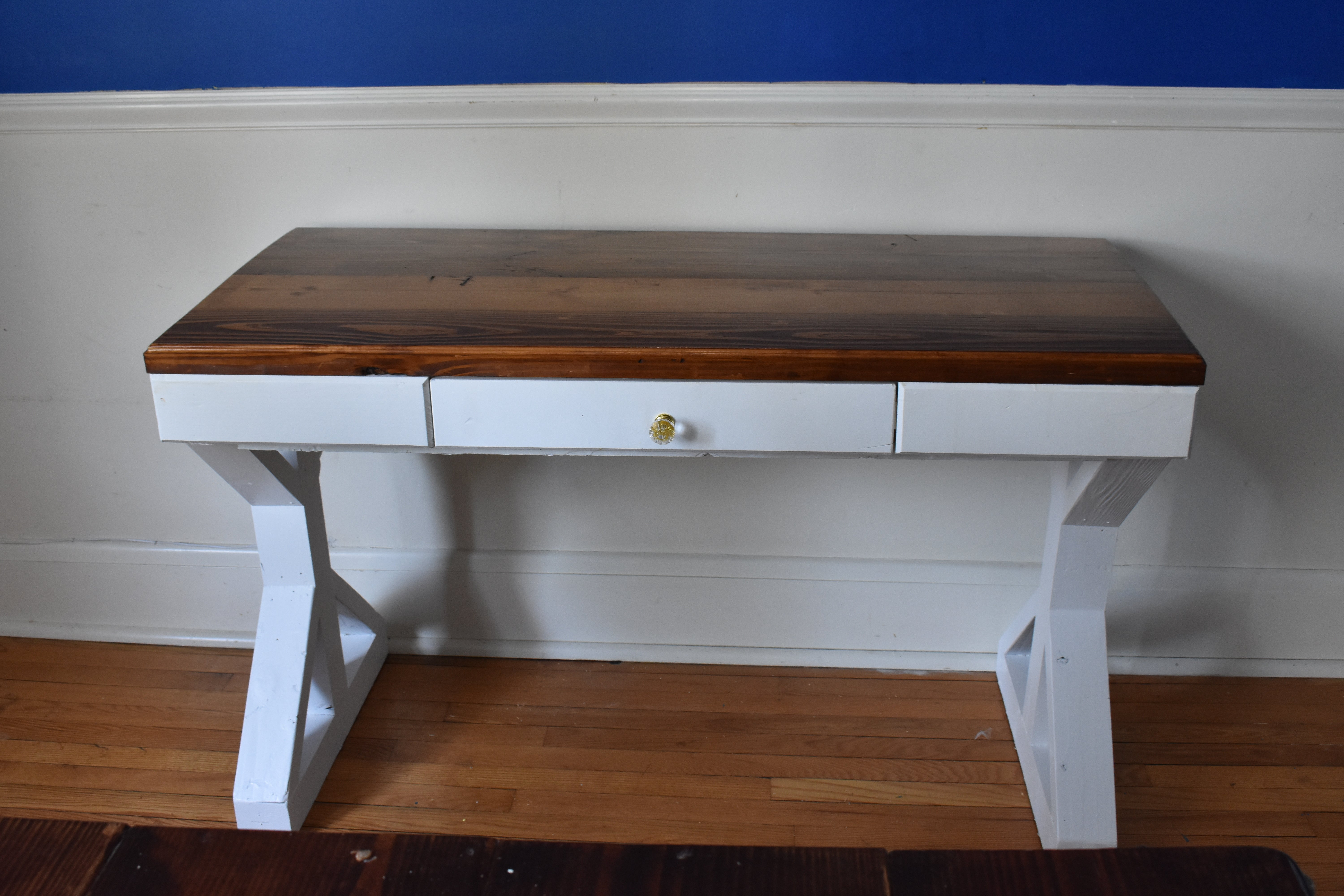 Farmhouse Desk Vanity Made Woodworks