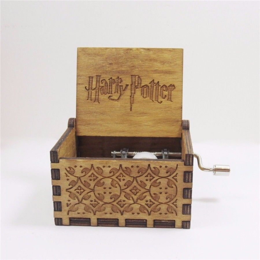 Image of Harry Potter Theme Wind Up Box