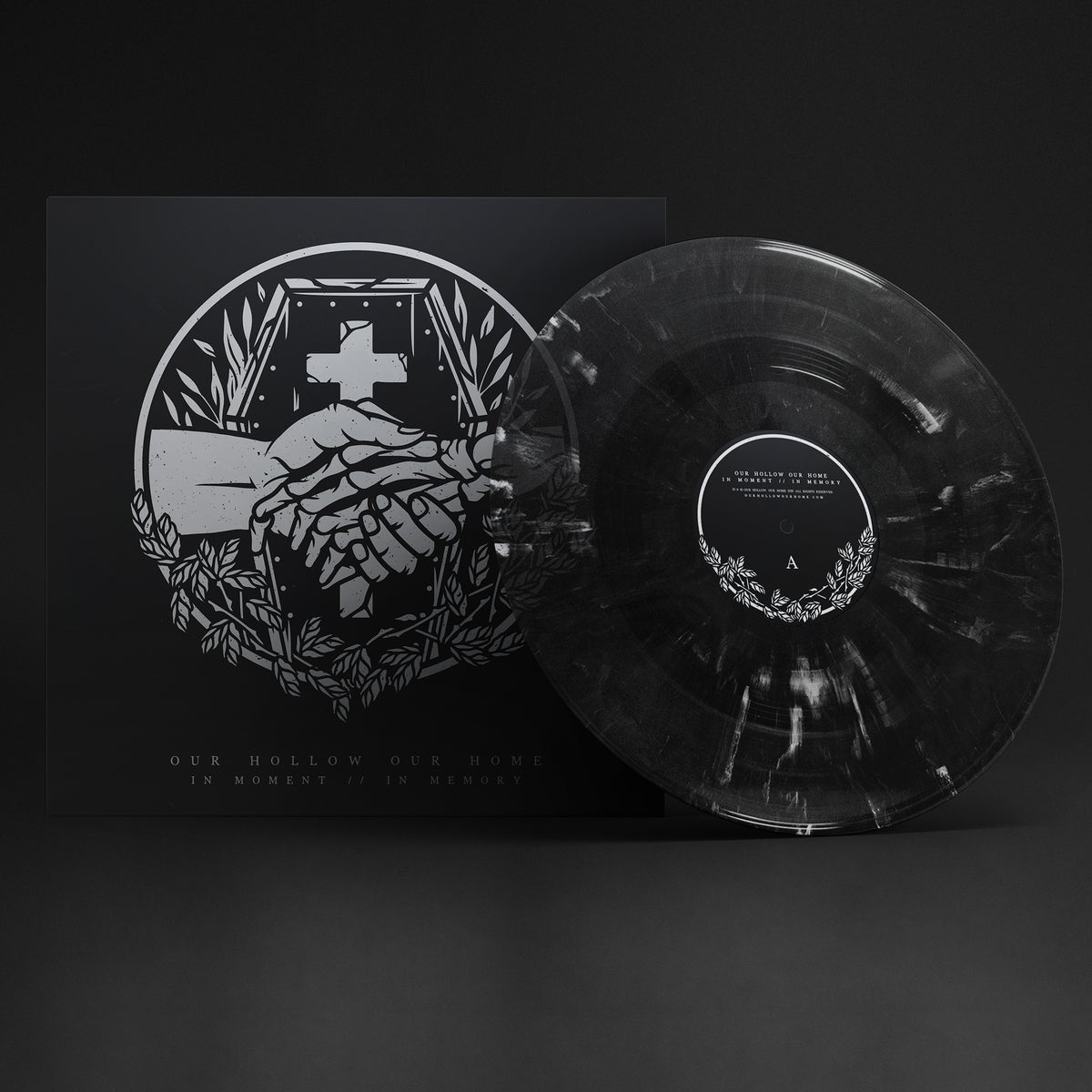 Image of IN MOMENT // IN MEMORY - BLACK MARBLE *LIMITED EDITION* VINYL