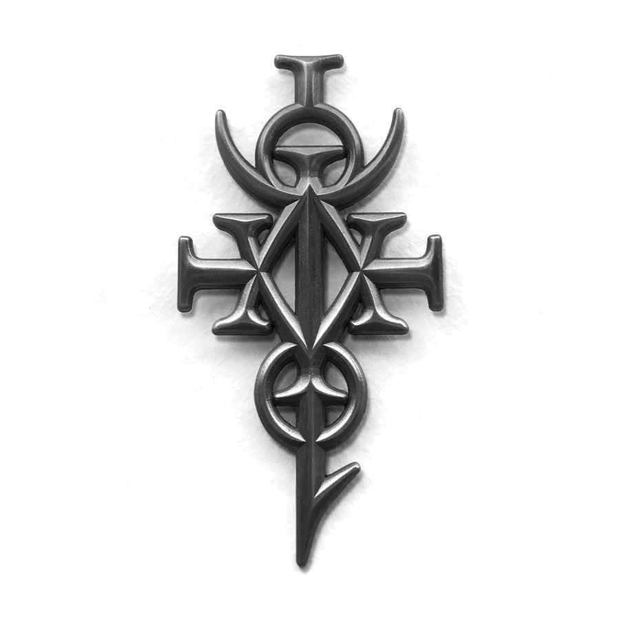 Image of Hieroglyphic Monad Pin