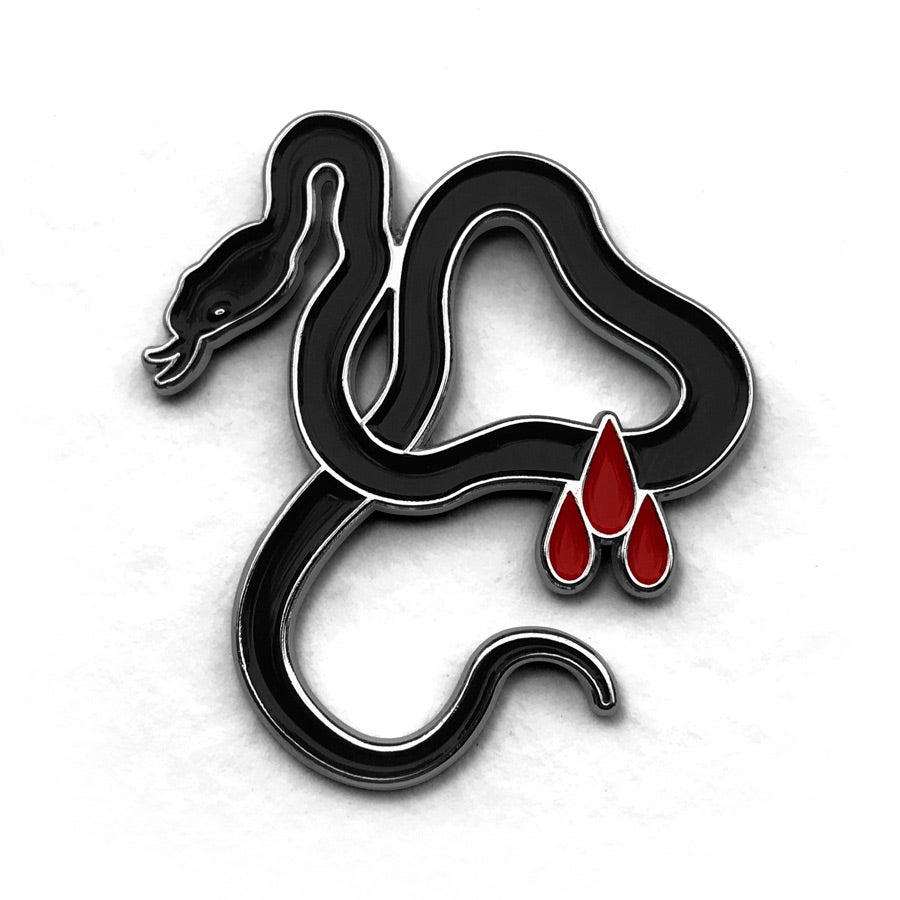 Image of Sacrificial Serpent Pin