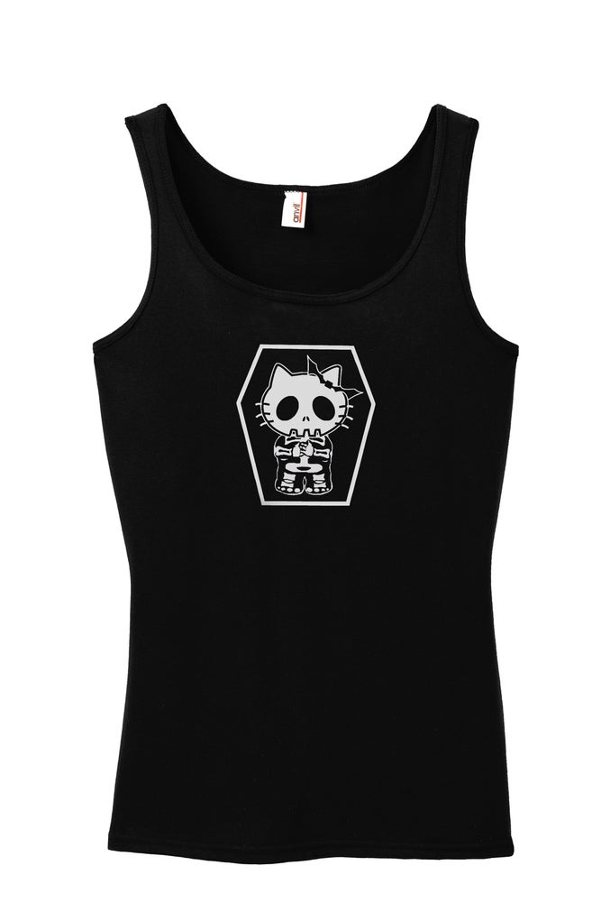 Image of The Independents Coffin Kitty - Tank Top Women's