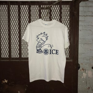 Image of ABOLISH ICE RAICES BENEFIT TEE