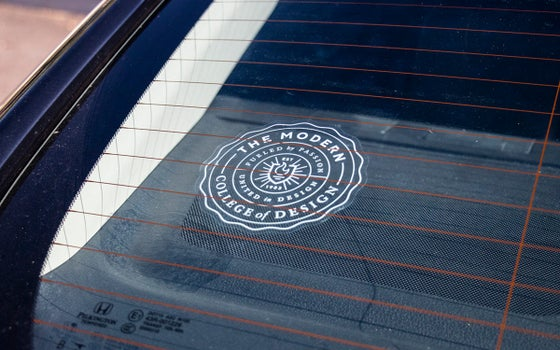 Image of Official Seal Car Decal