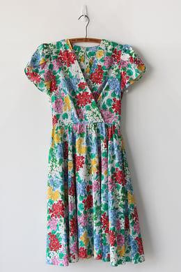 Image of SOLD Rainbow Garden Of Flowers Dress