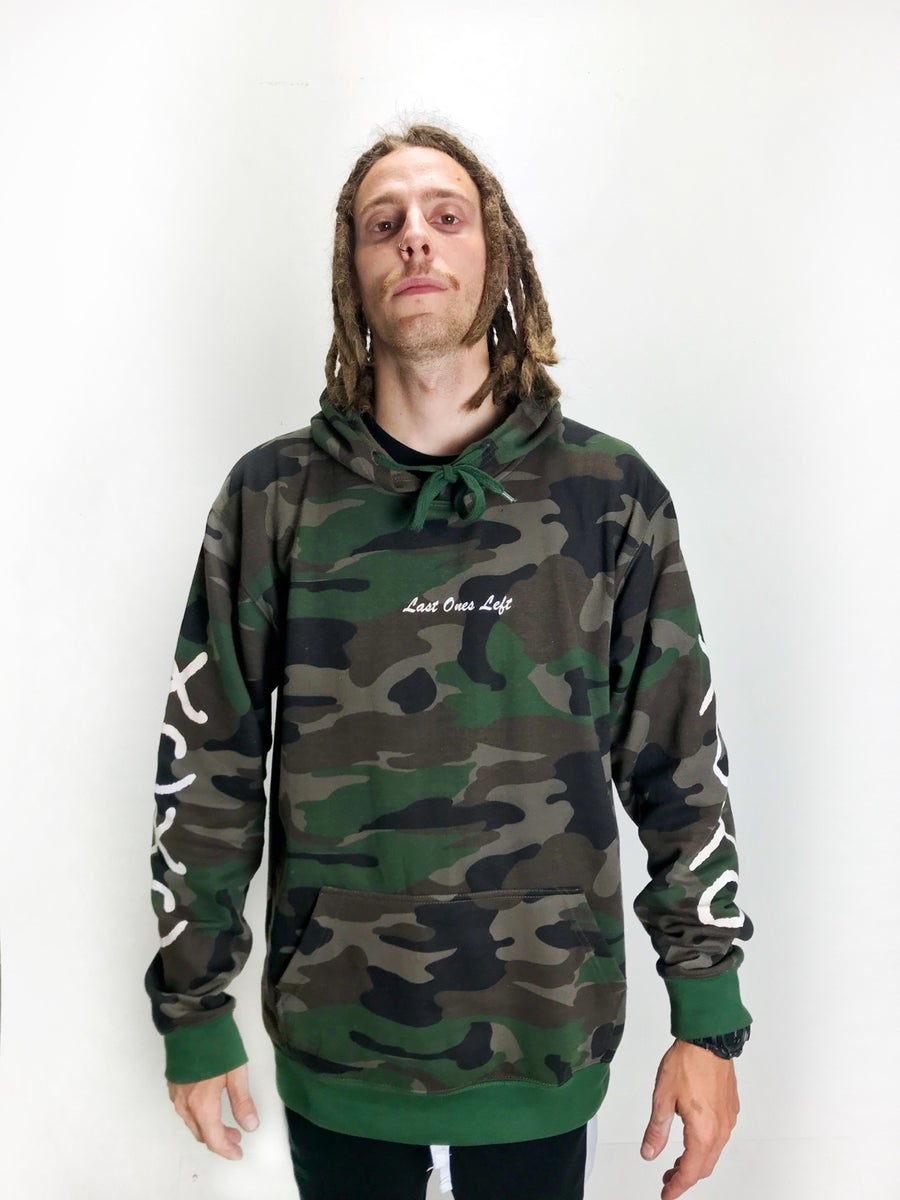 Image of Camo Last Ones Left XC hoodie