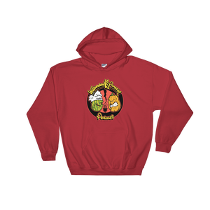 Image of WATERMELON VS PUMPKIN HOODIE