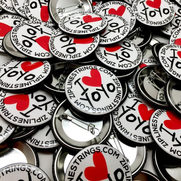 Image of I Heart YoYo Button