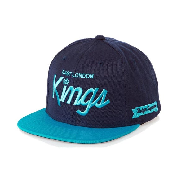 Image of KING APPAREL NAVY E.L.K STARTER SNAPBACK CAP