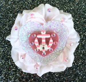 Image of  Nautical Bombshell Sweetheart Hair Flower - Pink
