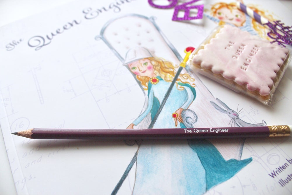 Image of Personalised stationary - planner words and colouring/writing pencils