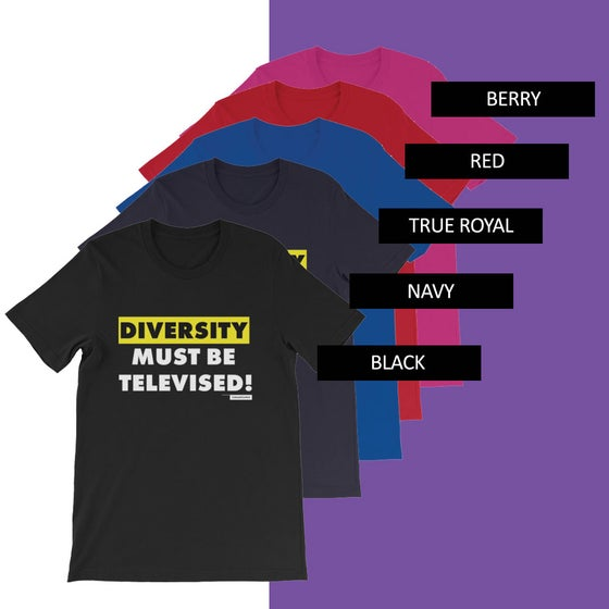 Image of Diverse-A-Tee Yellow Tee