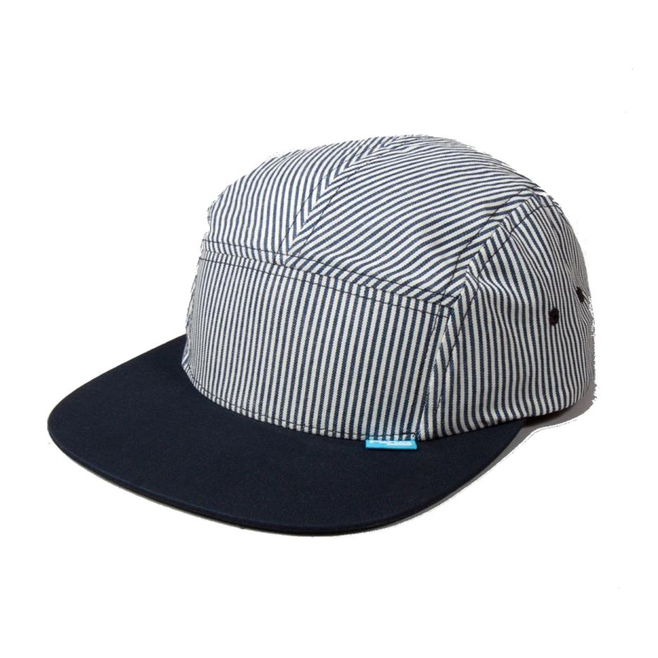 Image of KING APPAREL NAVY 5-PANEL RS CAP