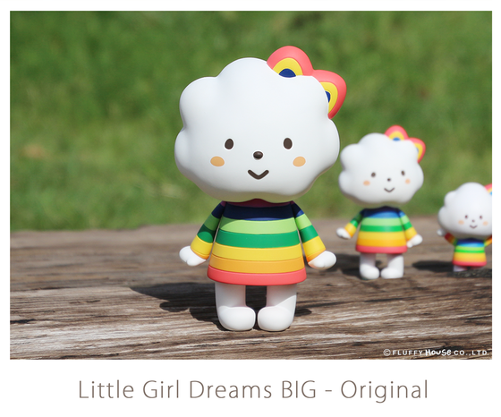 Image of Little Girl Dreams BIG - Original