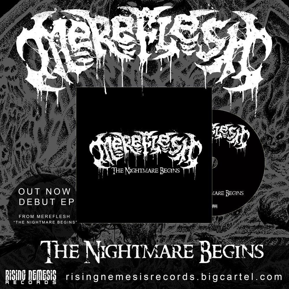 Image of MEREFLESH - The Nightmare Begins CD EP