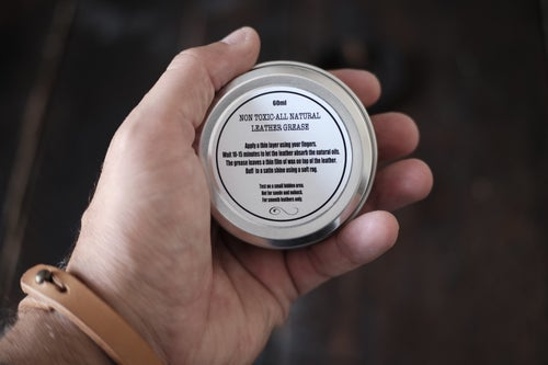Image of Old Dutch leather grease