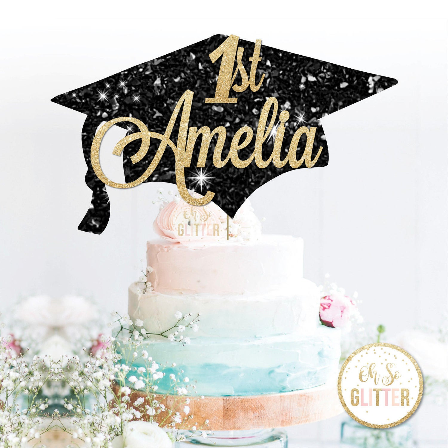 Image of Graduation Cake Topper