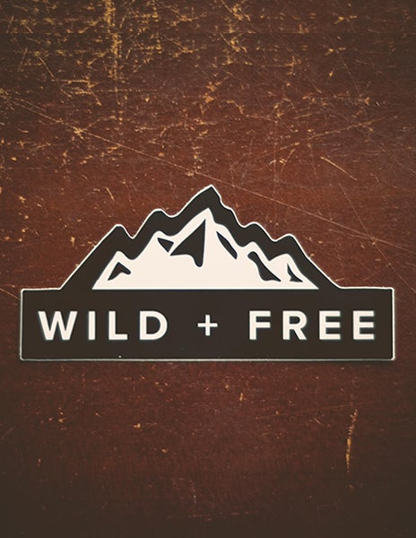 Image of Wild + Free Decal