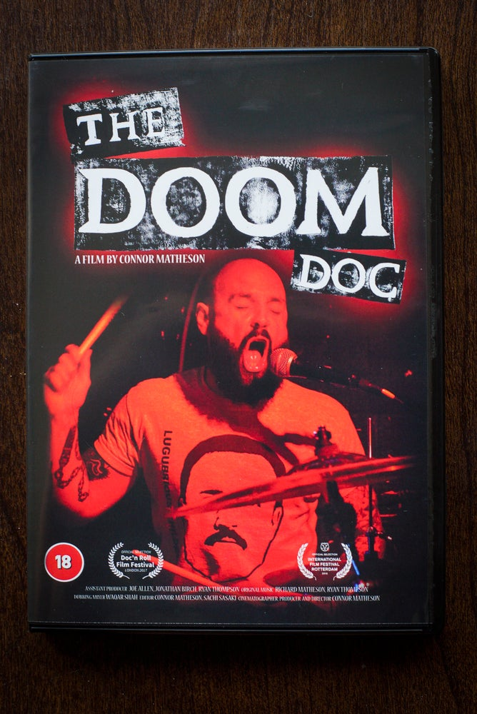 Image of The Doom Doc data DVD  (tracked postage)