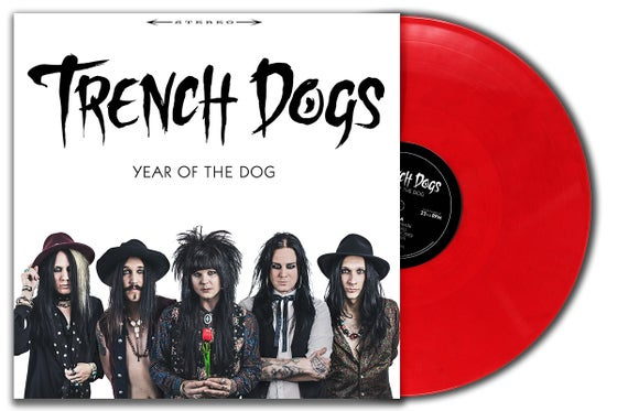 Image of Trench Dogs - Year of the Dog Album Limited Edition Gatefold Red Vinyl