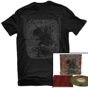 Image of Our Place of Worship is Silence - With Inexorable... SWAMP GRN LP + Shirt Package (Pre-order)